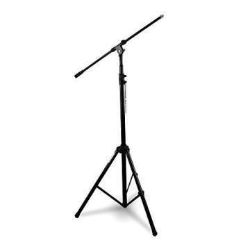 Stand Microphone Boom Mic Arm Tripod Clip Holder Studio Rotating Pyle Pmks56 .