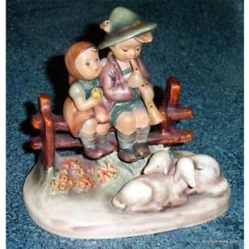 """""""Eventide"""" Goebel Hummel Figurine #99 TMK3 Boy & Girl On Fence MOTHERS DAY GIFT!"""
