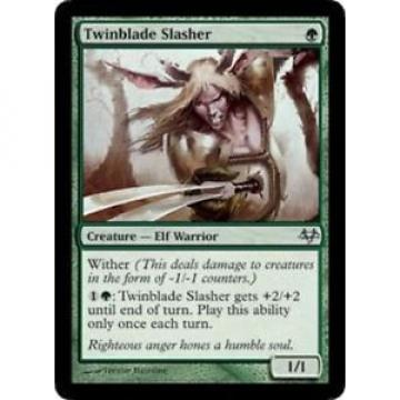 Twinblade Slasher NM, English x 4 * Eventide MTG magic