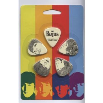 The Beatles 10 Pack Guitar Picks on Blister Planet Waves