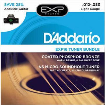 D'Addario EXP16 FREE NS Micro Soundhole Tuner