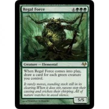 (1x) Regal Force (x1)✰PLAYED✰Eventide✰MTG 1 x