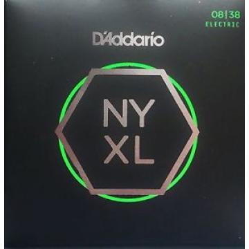 3 Sets! D'Addario NYXL0838 NYXL Electric Guitar Strings Free US Shipping NY XL