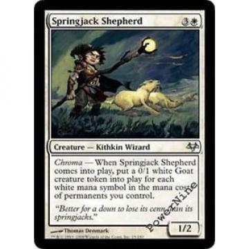 1 Springjack Shepherd ~ White Eventide Mtg Magic Uncommon 1x x1