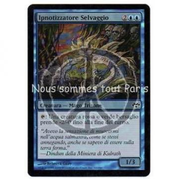 1 x Ipnotizzatore Selvaggio ital. / Eventide MTG Magic Card FOIL