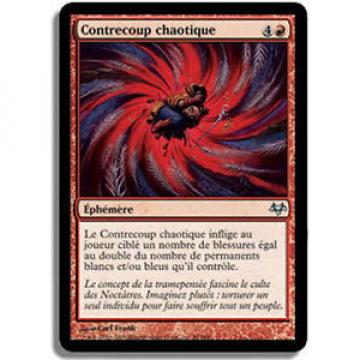 MTG - x4 Contrecoup Chaotique NM French Eventide - MTG Magic