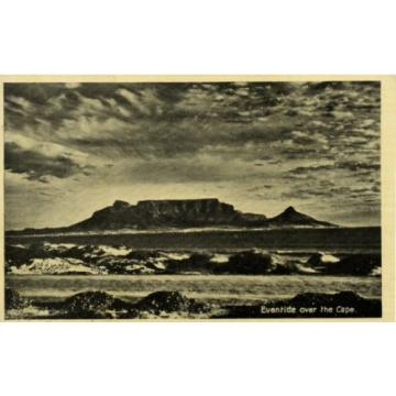 south africa, CAPE TOWN, Eventide over the Cape (1930s)