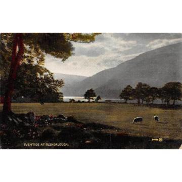 Ireland, Co. Wicklow, Eventide at Glendalough