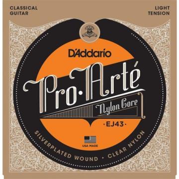 D'Addario EJ43 Pro-Arte Nylon Classical Guitar Strings Light Tension X2 Sets
