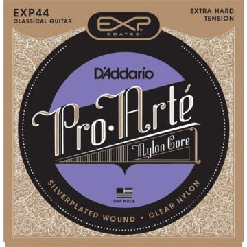 D'Addario EXP44 Coated Classical Guitar Strings Extra Hard Tension X2 Sets