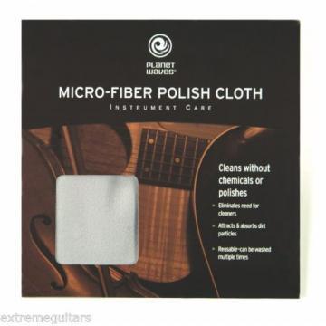 Planet Waves PW-MPC Micro-Fiber Guitar Bass Camera Lens Polish Cloth NEW