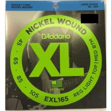 D'Addario Electric Bass Full 4 String Set - Variety of Gauges