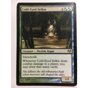 COLD-EYED SELKIE MTG Eventide RARE Creature
