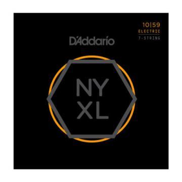 5 Sets!!! Daddario NYXL1059 7 string guitar strings