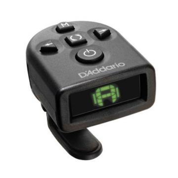 Planet Waves PWCT12 NS Micro Headstock Tuner for Guitar - Clip on Tuner