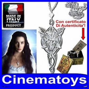 Lord Of The Rings PENDANT ARWEN STELLA TIME MACHINE EVENTIDE Lotr