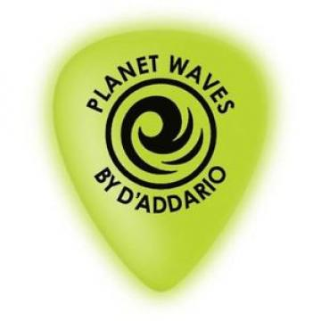 Planet Waves Cellu-Glow Guitar Picks, Light, 10 pack