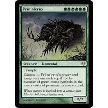MTG: Primalcrux - Green Rare - Eventide - EVE - Magic Card