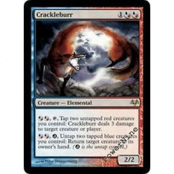 1 Crackleburr - Hybrid Eventide Mtg Magic Rare 1x x1