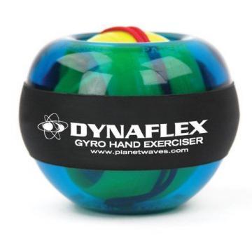 Dynaflex Gyro Hand Exerciser Hands Wrists Forearm Warm Up Play Improve Endurance
