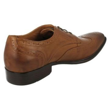 Mens Mak Nason Memory foam Brogue Shoes EVENTIDE/68902