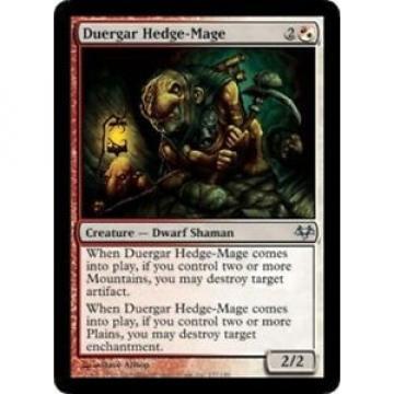 Duergar Hedge-Mage NM, English x 4 * Eventide MTG magic