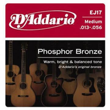 D'Addario EJ17 Medium .013-.056 Cordes guitare folk acoustique