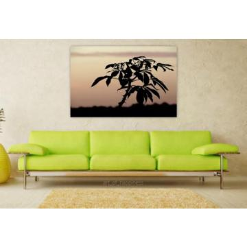 Stunning Poster Wall Art Decor Silhouette Shadow Eventide 36x24 Inches