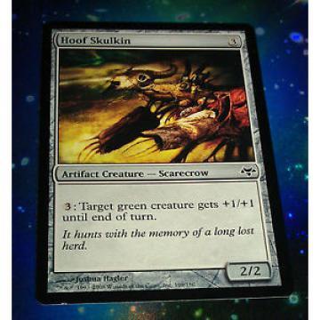 4 x MTG Card - Hoof Skulkin - Eventide Artifact 1st class postage