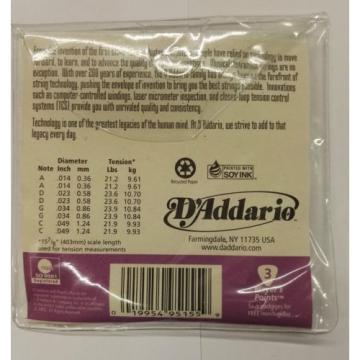 D'Addario J72 Mandola Phosphor Bronze Light 14-49 Gauge Strings - New