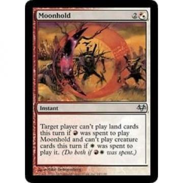 4x MTG: Moonhold - Multi Uncommon - Eventide - EVE - Magic Card