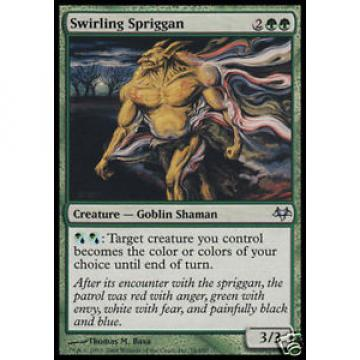 4x Swirling Spriggan - - Eventide - - mint