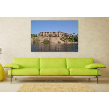Stunning Poster Wall Art Decor Palace Nile Rio Twilight Eventide 36x24 Inches