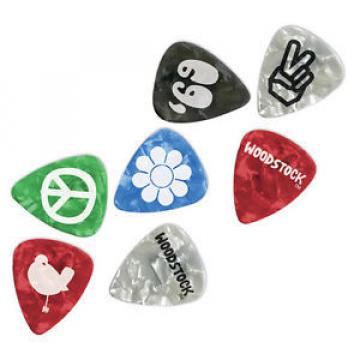 Planet Waves 1CAC6-10WS Woodstock Pick Collection Heavy, 10er Pack