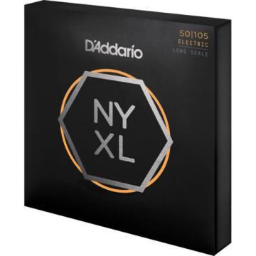D'Addario NYXL 50-105 Long Scale Medium Bass Guitar Strings