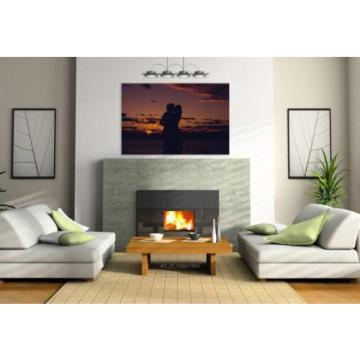 Stunning Poster Wall Art Decor Sunset Sol Minas Eventide 36x24 Inches