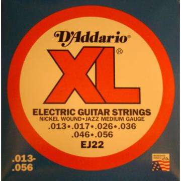 D'Addario XL Electric Jazz Medium Guitar Strings