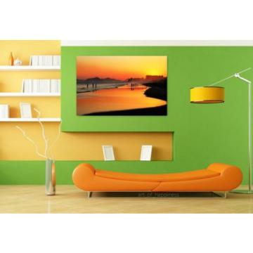 Stunning Poster Wall Art Decor Sunset Beach Sol Eventide 36x24 Inches