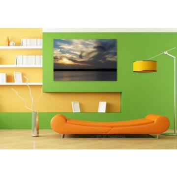 Stunning Poster Wall Art Decor Rio Sunset Landscape Sky Eventide 36x24 Inches