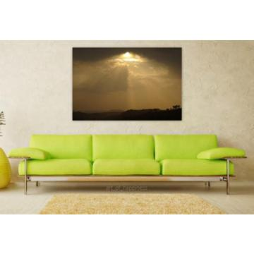 Stunning Poster Wall Art Decor Sunset Eventide Clouds Horizon 36x24 Inches
