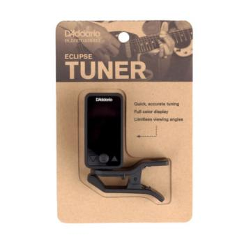 Planet Waves Eclipse Clip On Chromatic Guitar and Bass Tuner Black PW-CT-17 BK