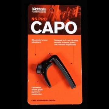 Planet Waves NS Guitar Capo Black
