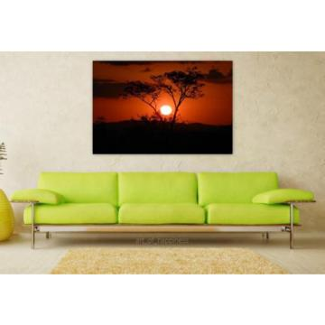 Stunning Poster Wall Art Decor Sunset Eventide Sol 36x24 Inches