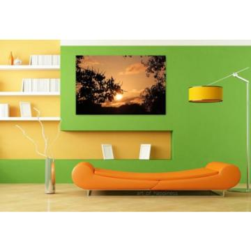 Stunning Poster Wall Art Decor Eventide Nature Sunset Environment 36x24 Inches