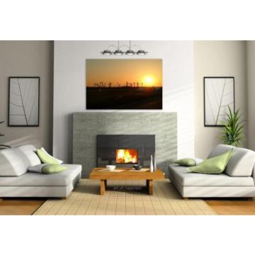 Stunning Poster Wall Art Decor Eventide Sunset Landscape Horizon 36x24 Inches