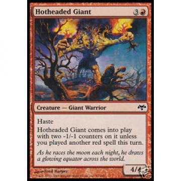 4x Hotheaded Giant - - Eventide - - mint