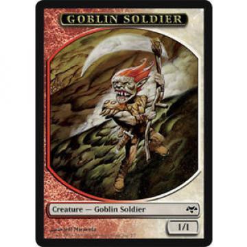 4 Goblin Soldier Token ~ Near Mint Eventide 4x x4 Playset MTG Magic Multi-Color