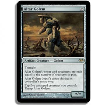 MTG - Altar Golem NM English Eventide - MTG Magic