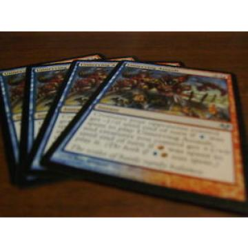 4x Unnerving Assault Magic the Gathering MTG Eventide Uncommon