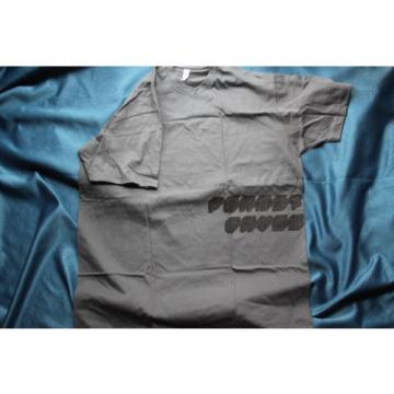 D'Addario Planet Waves Short Sleeve Tee Shirt, Gray, 100% Cotton, XL, DF24XL